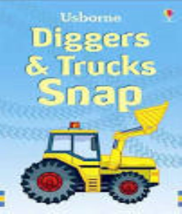 Diggers & Truck Snap Cards