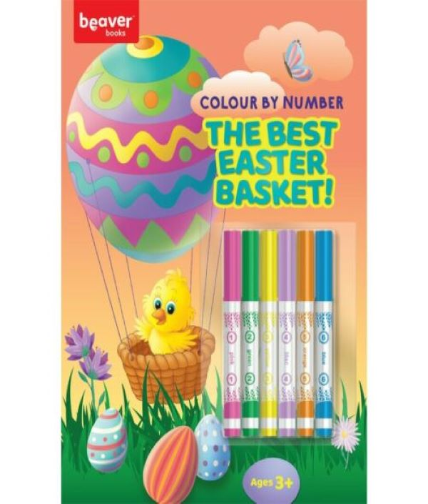 Colour By Numbers - The Best Easter Basket
