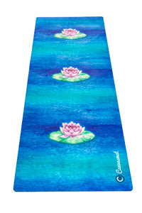 BRAHMA LOTUS - Eco Yoga Towel - Canvasmat