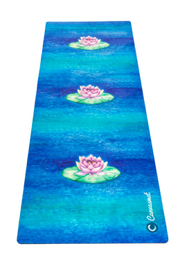 BRAHMA LOTUS - Eco Yoga Mat - PRE ORDER (Here by Oct 23rd) - Canvasmat
