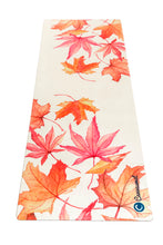 Load image into Gallery viewer, BED OF LEAVES - Eco Yoga Mat - Canvasmat