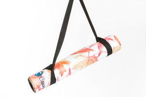 AUTUMN LEAVES - Eco Yoga Mat - Canvasmat