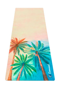 SERENE SUNSET - Eco Yoga Mat - Canvasmat