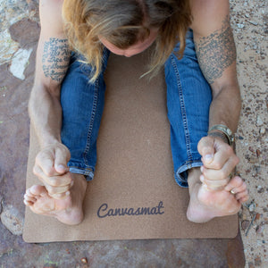 EASY MAT - Natural rubber mat cork surface - Canvasmat