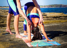 Load image into Gallery viewer, SERENE SUNSET - Eco Yoga Mat - PRE ORDER (Here by Oct 23rd) - Canvasmat
