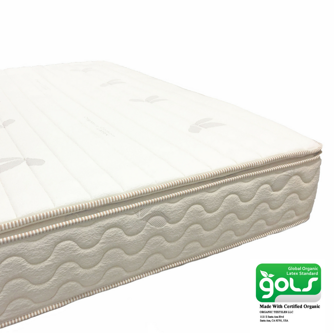 All Certified Pillow Top Latex Mattress 9 Inch My