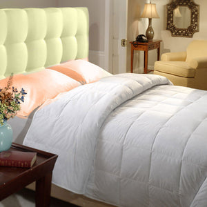 Washed-Organic Real Down Comforter - MyOrganicSleep