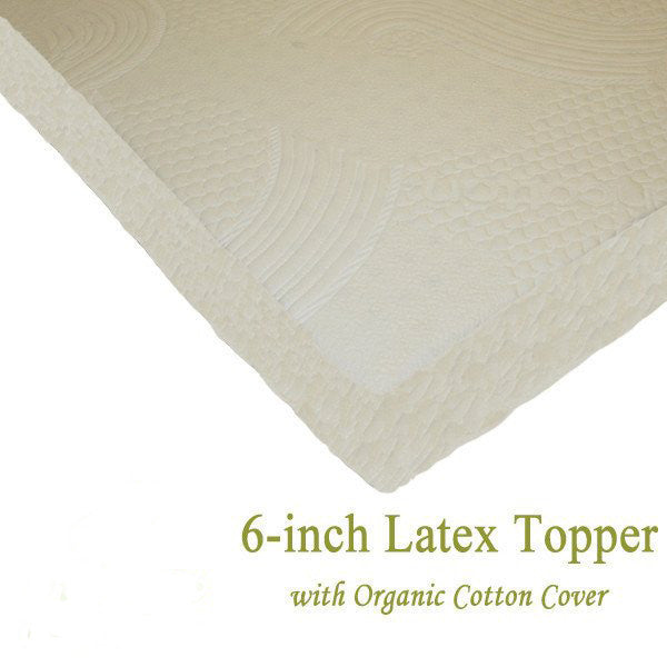 Tencel cover latex topper