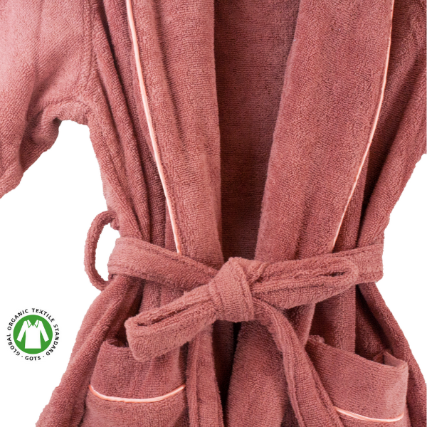 239fc8a718 Organic Cotton Terry Bathrobe - MyOrganicSleep