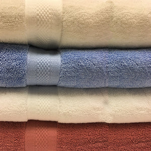 Organic Cotton Terry Bath Towels Set - MyOrganicSleep