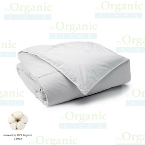 Organic Cotton Comforter (with Bamboo) - MyOrganicSleep