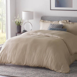Natural Bamboo Duvet Cover Set - MyOrganicSleep