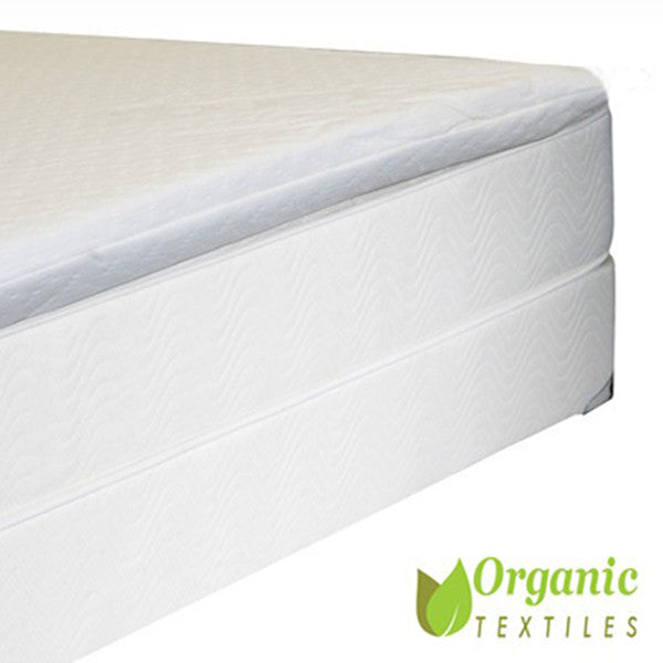 Certified Organic Latex Topper With Dual Zones