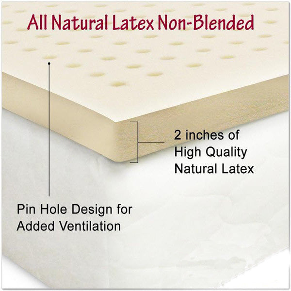 latex topper organic textiles
