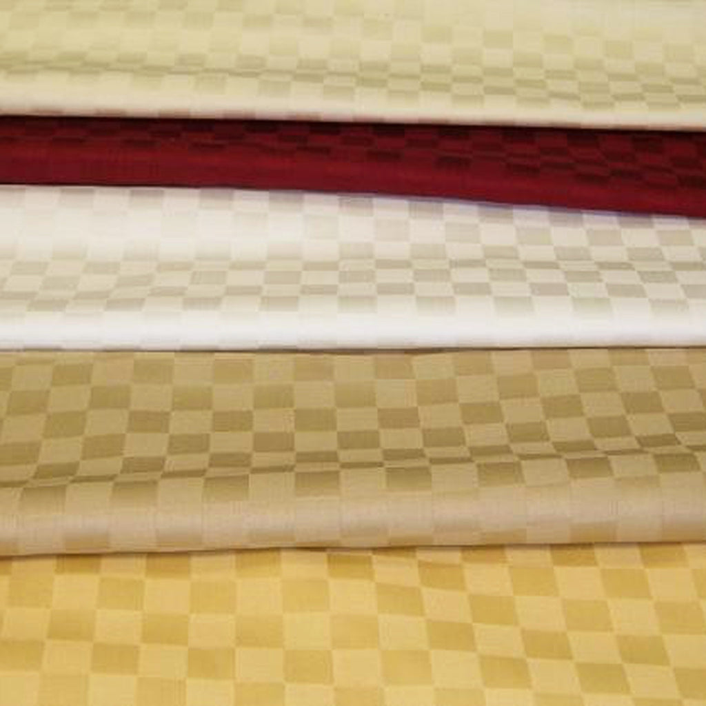 Checkered 100% Organic Cotton Sheets Set (310 TC) - MyOrganicSleep