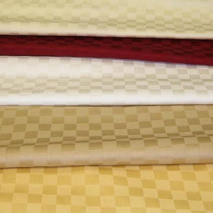 Organic Cotton Sheets Set - (Checker) - MyOrganicSleep