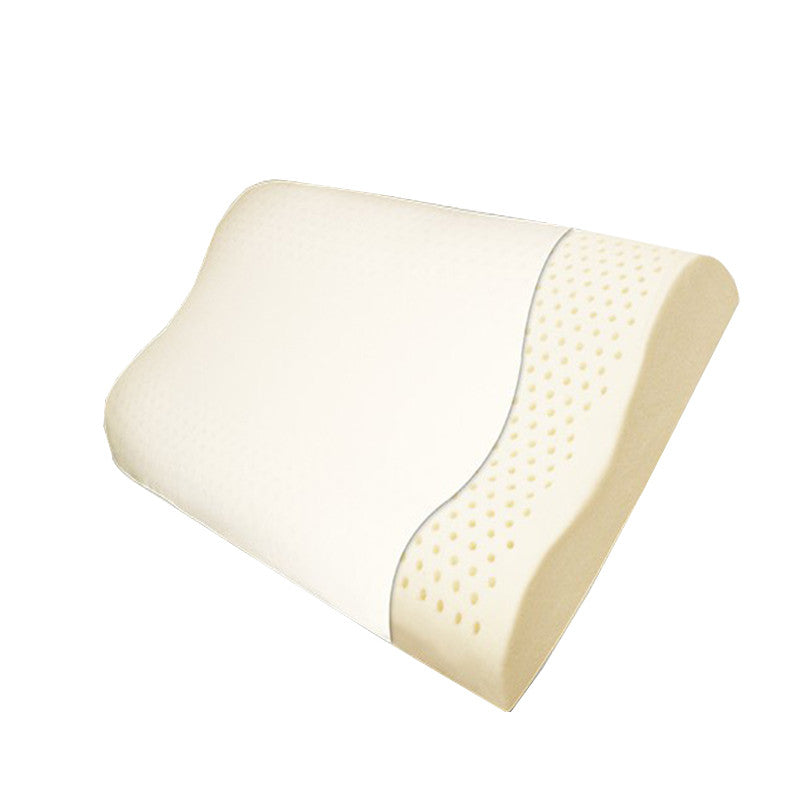 Latex Contour Pillow - Good Pillows for Neck Pain - MyOrganicSleep