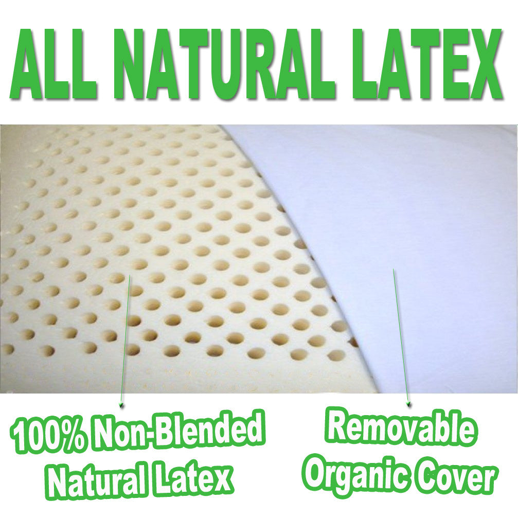 100% Natural Latex Pillow Set - MyOrganicSleep