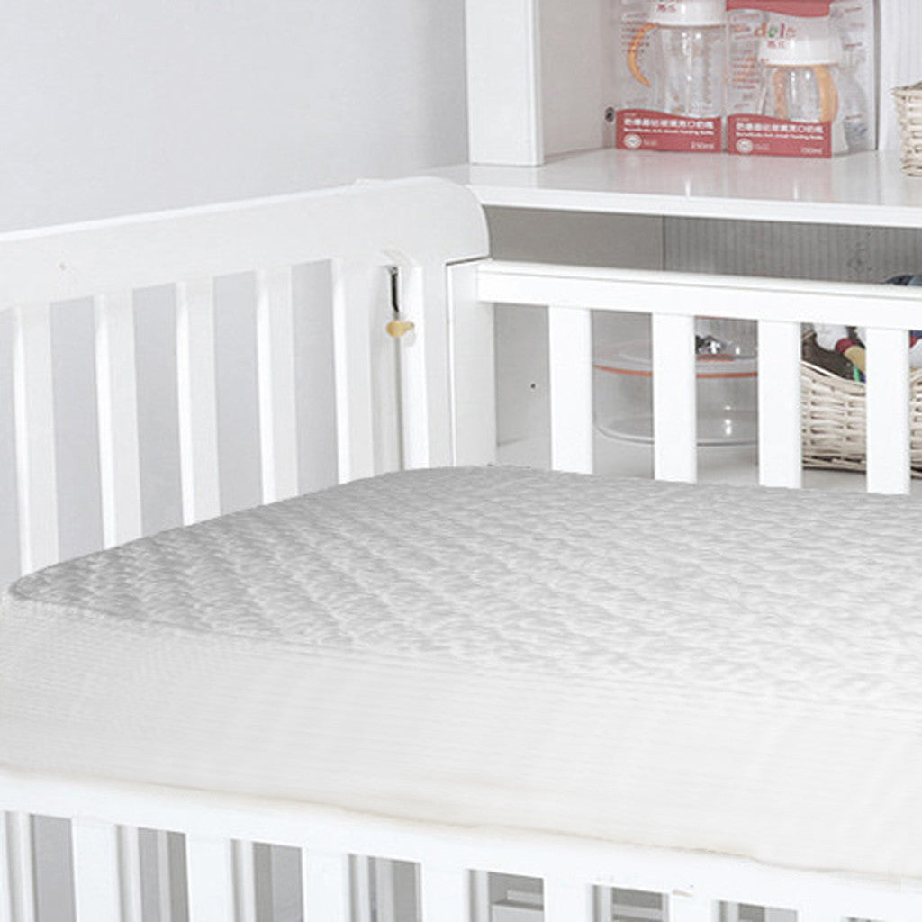 Organic Crib Cotton Mattress Pad With Organic Filling - MyOrganicSleep