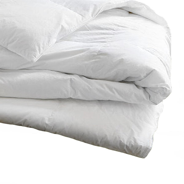 Washed Organic Down Alternative Comforter- King size - MyOrganicSleep