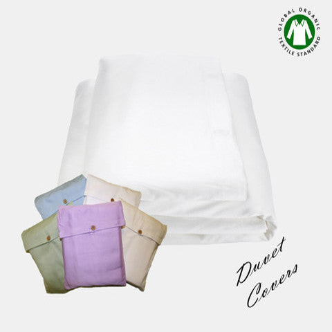 Washed Certified Organic Cotton Duvet Cover
