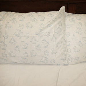 Vintage Print Organic Cotton Sheet Set (350 TC) - MyOrganicSleep
