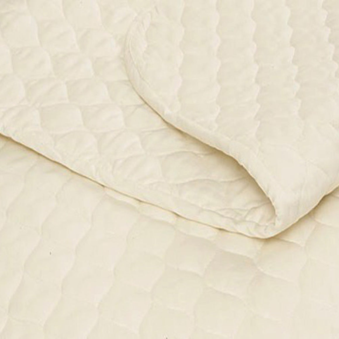 Certified Organic Cotton Mattress Pad - FLAT - MyOrganicSleep