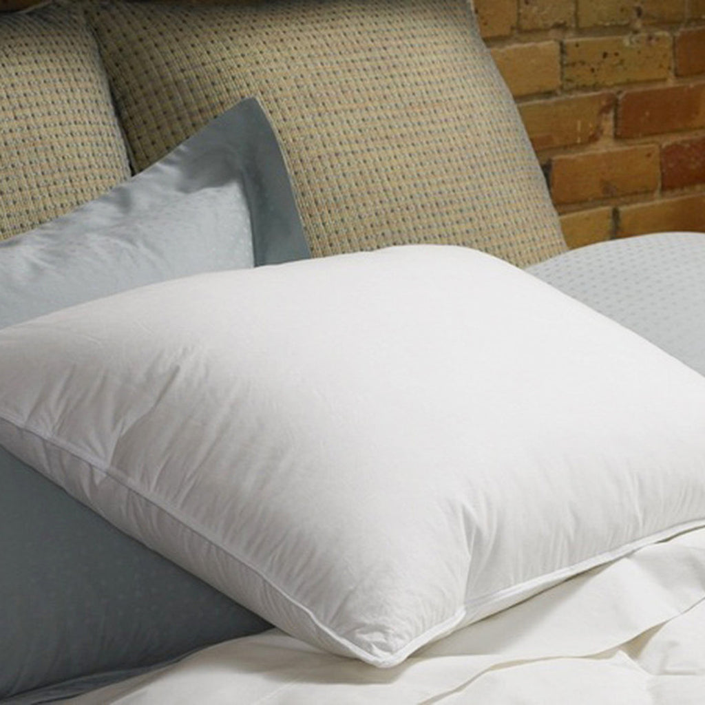 Organic Real Down Pillow - MyOrganicSleep