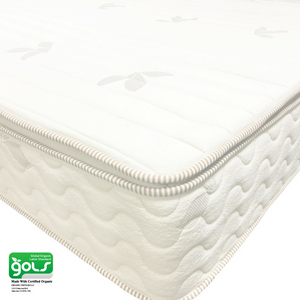 All certified with pillow top organic latex mattress- 9inch - MyOrganicSleep