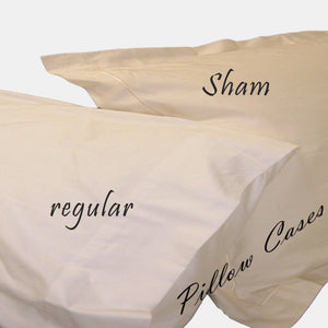 Organic Cotton Pillow Case 410TC and 550TC - MyOrganicSleep