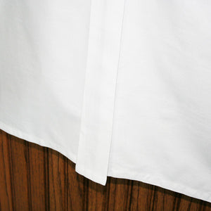 Organic Cotton Bed Skirt - MyOrganicSleep