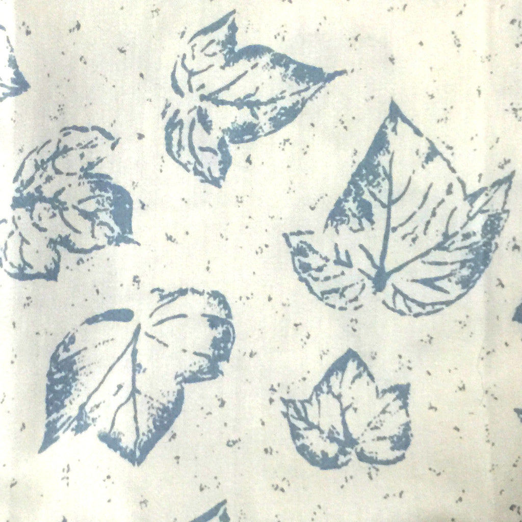 Blue Leaf Pattern