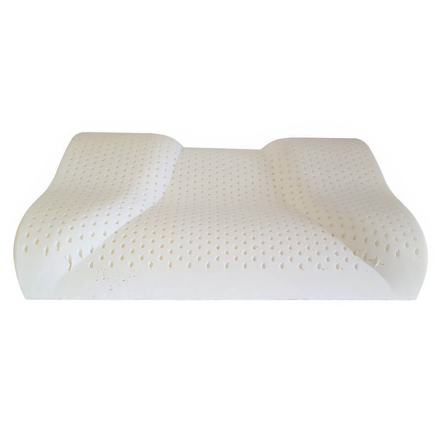 Natural Latex Contour Pillow For Side To Back Sleepers