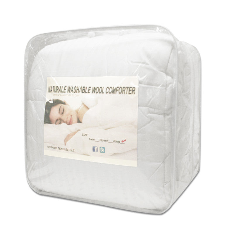 Washed-Natural Comforter - MyOrganicSleep