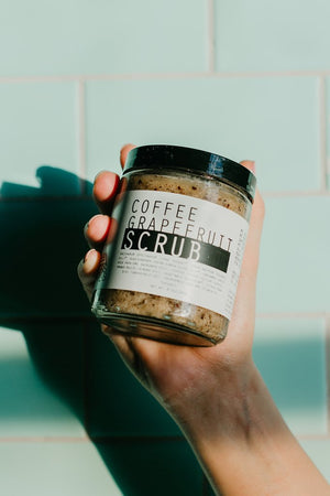 COFFEE GRAPEFRUIT SCRUB