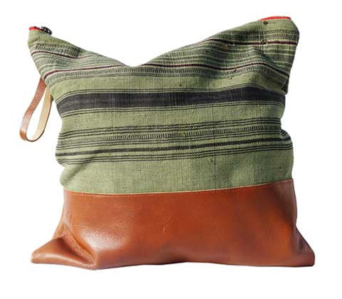 Large Clutch Aquinnah Green