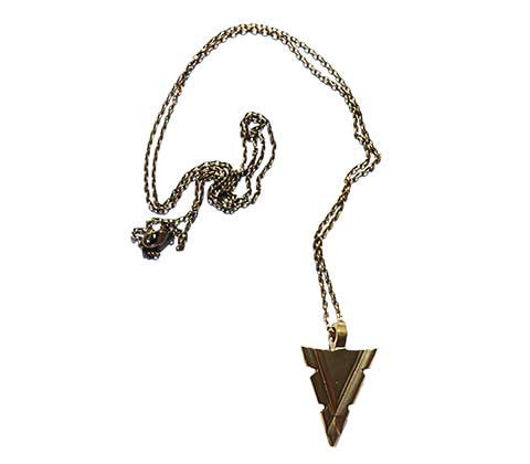 Medium Arrowhead Vaalbara Charm Necklace
