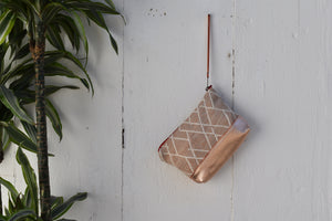 Sunset Moon Pouch in Rose Gold