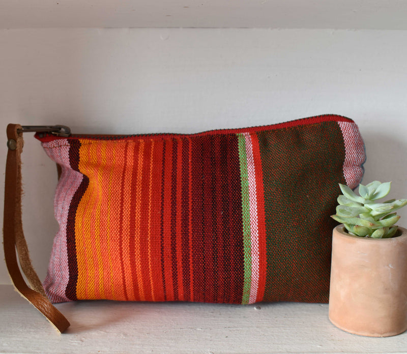Red Sayulita Clara Clutch