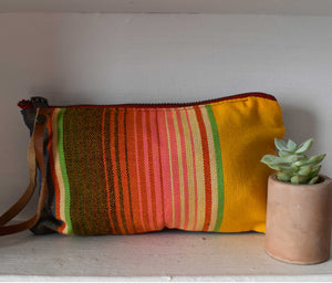 Yellow Sayulita Clara Clutch