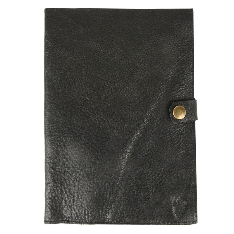 Travel Journal in Black Leather