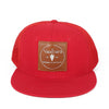 VAALBARA BASEBALL CAP IN RED//MESH
