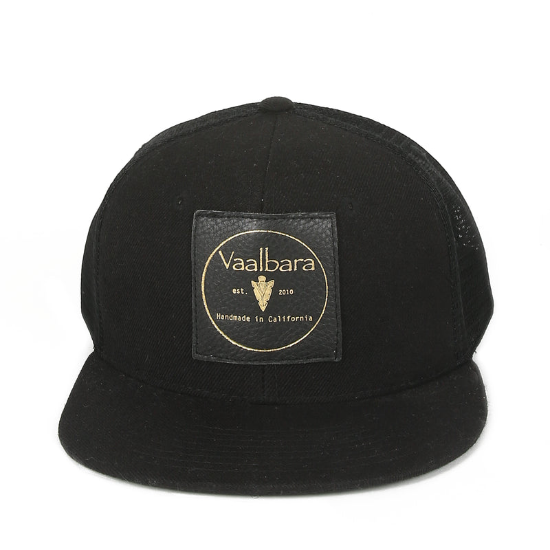 VAALBARA BASEBALL CAP IN BLACK//MESH