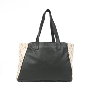Sunrise Tosh Tote in Black Leather