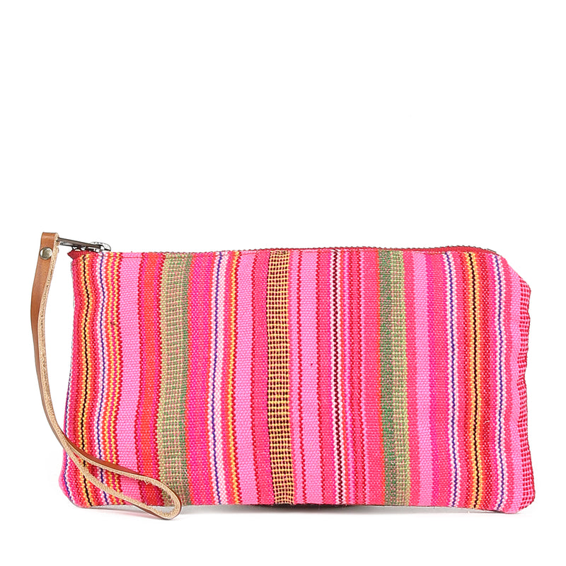 Thai Stripe Clara Clutch