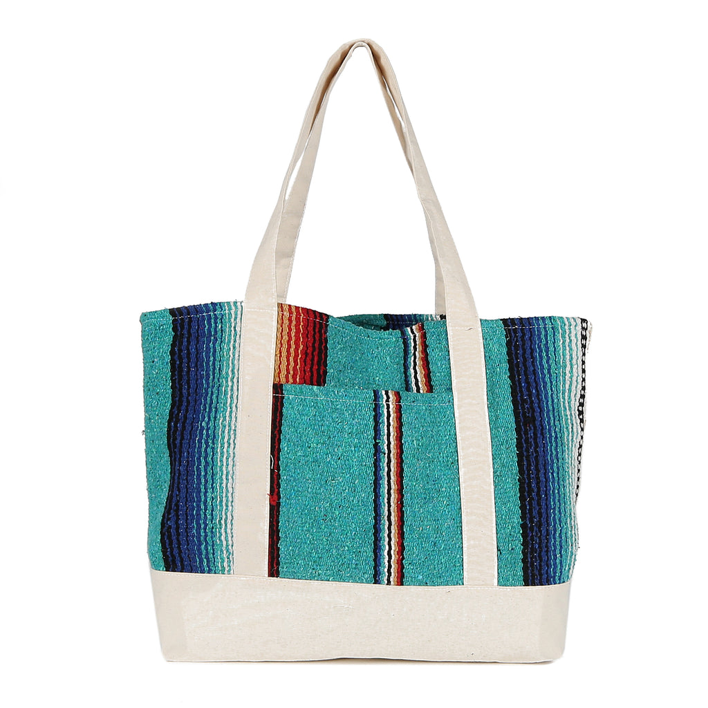 Beach Tote in Texas Turquoise