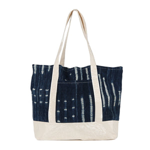 Beach Tote in Indigo