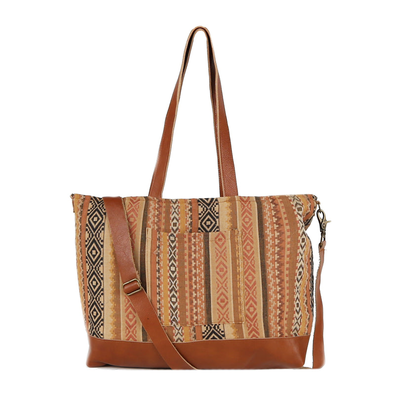 Indira Messenger Tote Bag