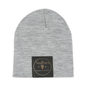 BABY VAALBARA BEANIE IN GREY