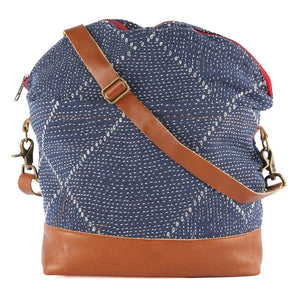 Avery Messenger Blue Kantha